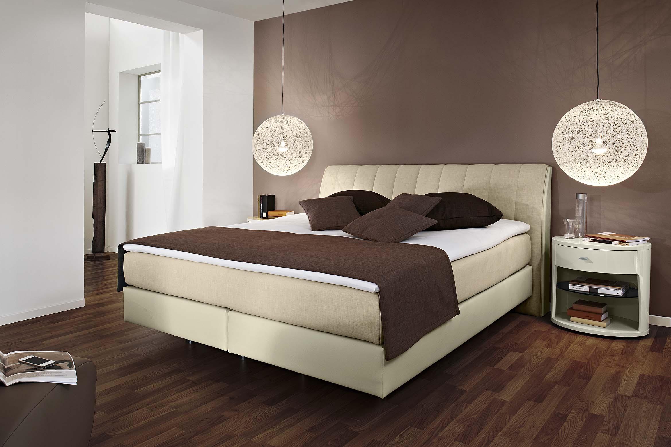 boxspringbetten interna m bel. Black Bedroom Furniture Sets. Home Design Ideas