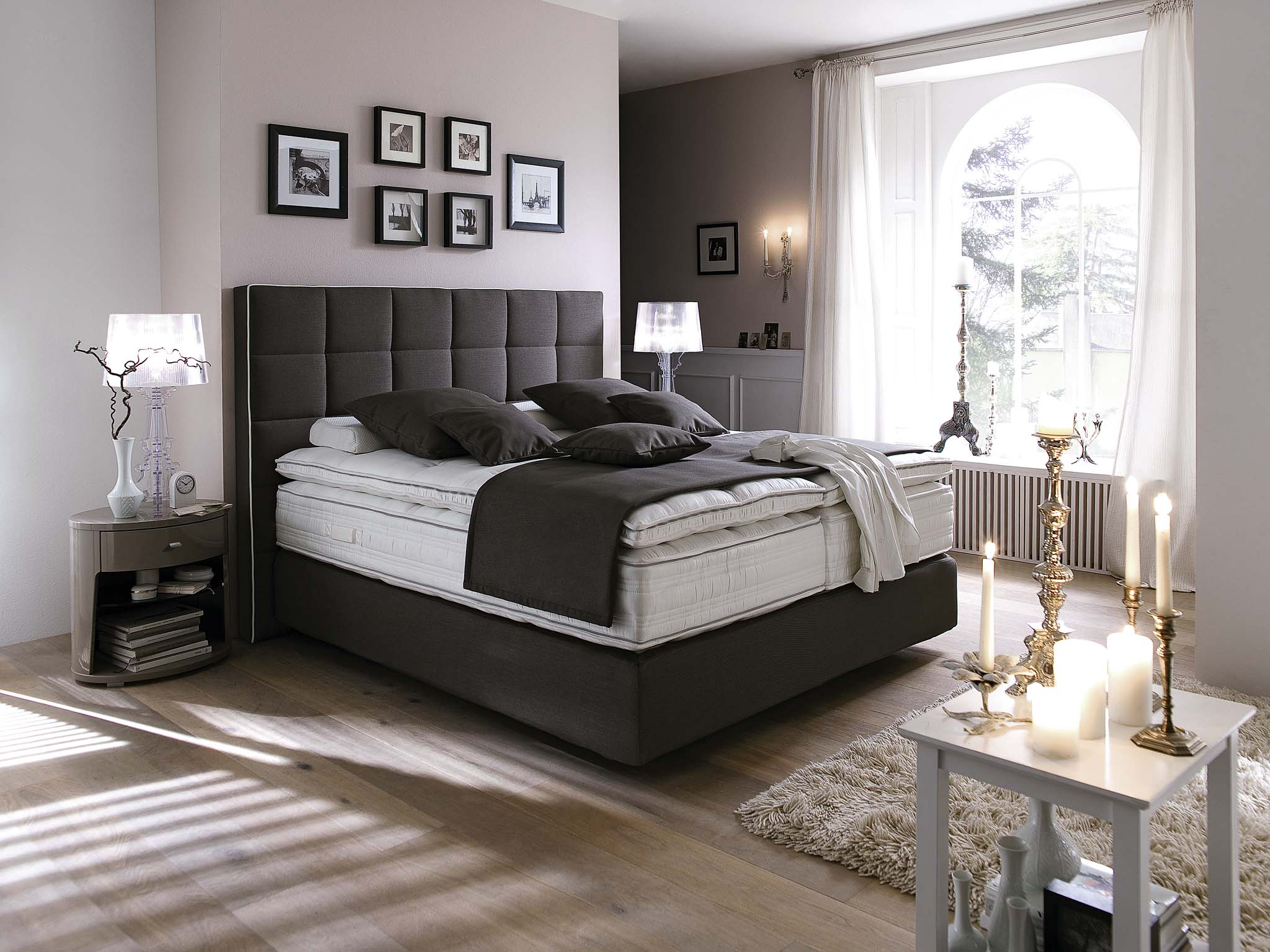 boxspringbetten interna m bel. Black Bedroom Furniture Sets. Home Design Ideas