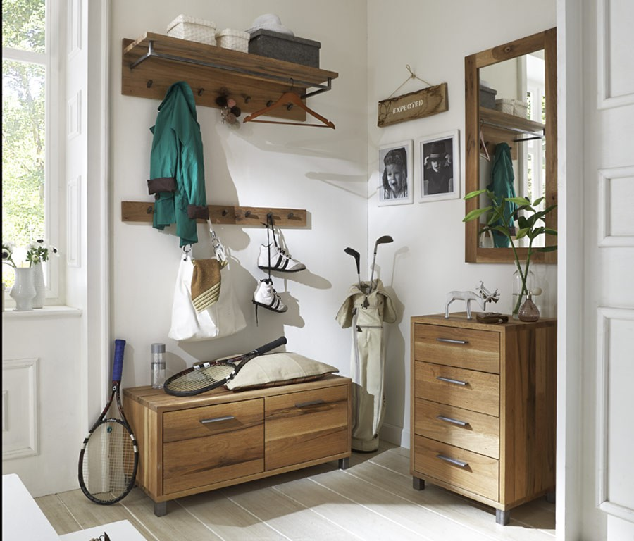 Sitzbank Für Garderobe garderobe mit sitzbank und spiegel dekoration ideen