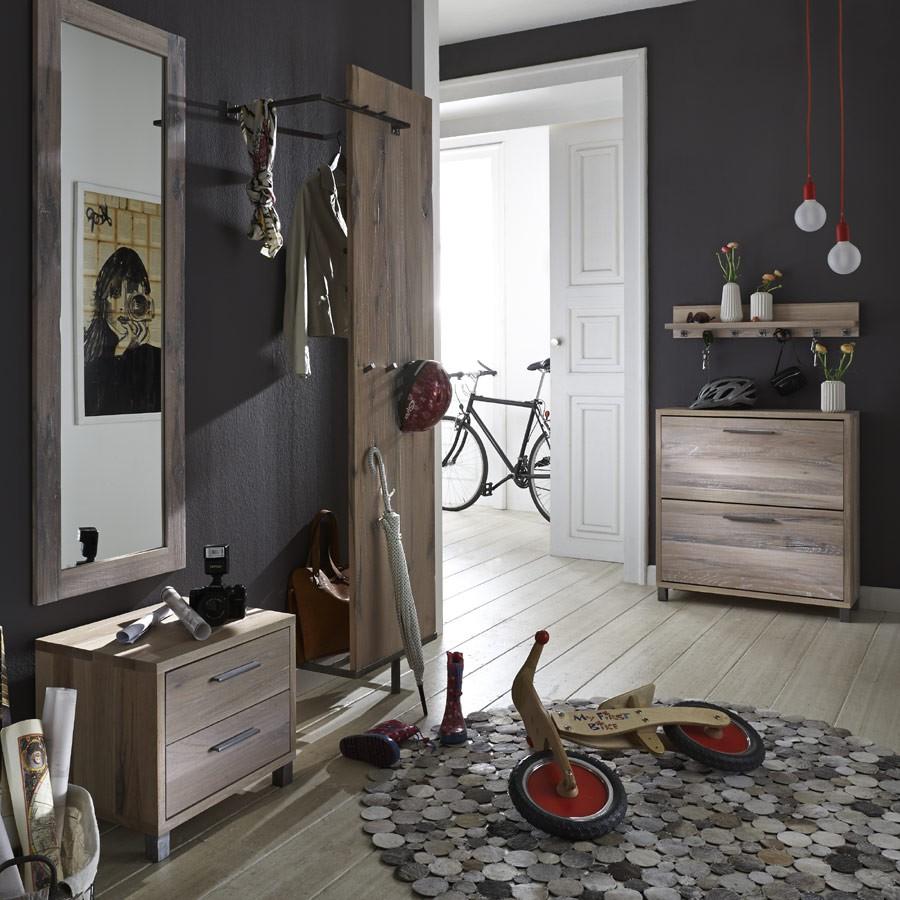 paneel mit ablage und kleiderstange rock it interna m bel. Black Bedroom Furniture Sets. Home Design Ideas