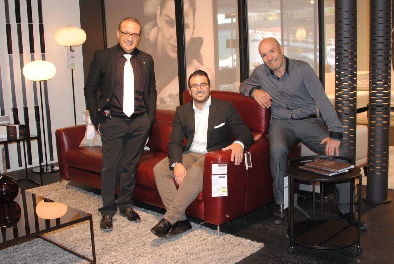 Claudio, Alessio und Edoardo Bertuca (v.l.)