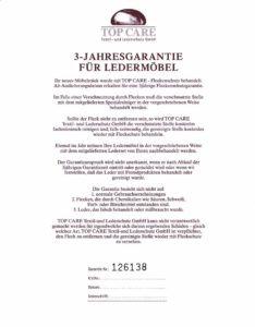 Leder-3-Jahresgarantie-234x300 Top Care Fleckenschutz: Neuer Glanz für Sofa & Co Wohn-Blog